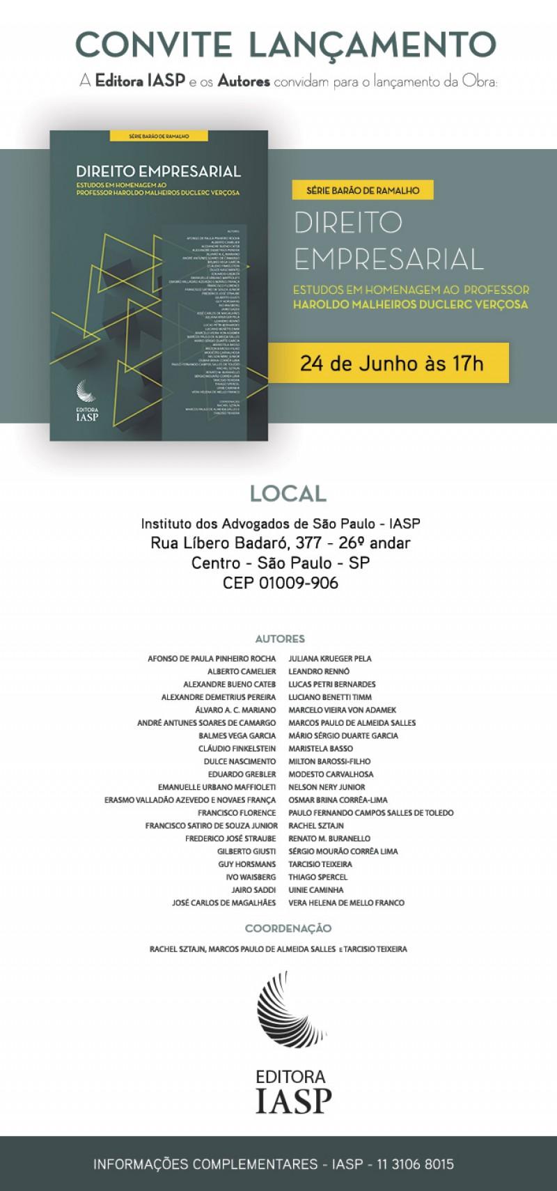 Homenagem Prof. Haroldo Malheiros (coord.)