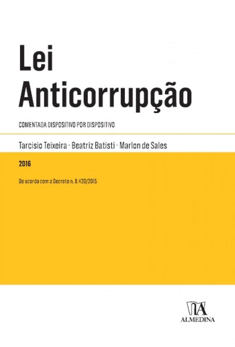 LEI ANTICORRUPÇÃO COMENTADA